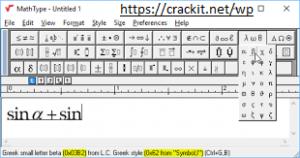MathType 7.4.8 Crack 2021